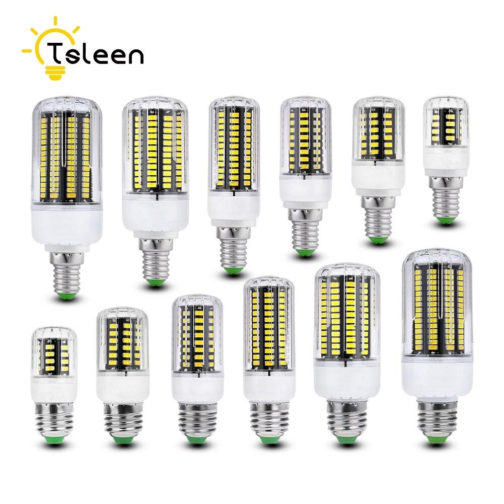 Super Bright E27 Led Lamp 5736 SMD Led Spotlight 58 74 105 140 170 LEDS 220V Led Light Bulb Bright Than 2835 3014 5630 5050SMD