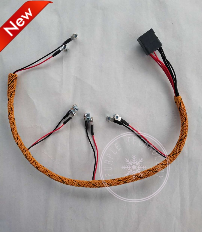 Diesel Motor Injector Drive Kabel Lijn Voor Kat C4.2 311d 312d 313d 315d
