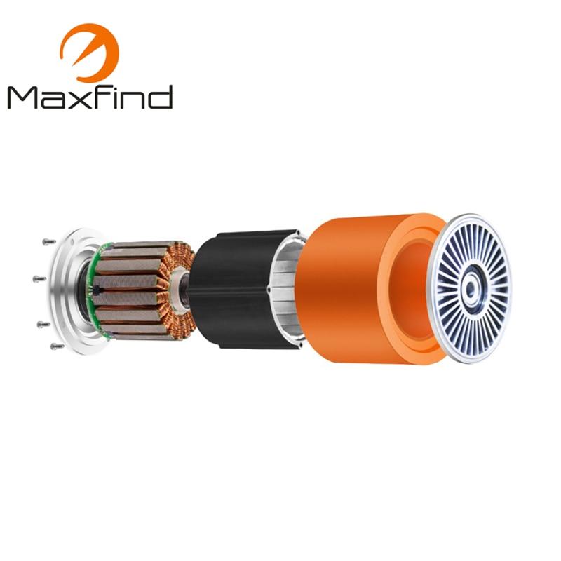 Motor de monopatín eléctrico Maxfind 90mm Motor de cubo sin escobillas de alta velocidad, Motor inteligente Micro autoequilibrado de 500 W para rueda - 3