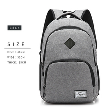 518b5b80a2 AUGUR New Men women Backpacks USB Charging Male Casual Back bag Travel  Teenager Student back to School Notebook ...