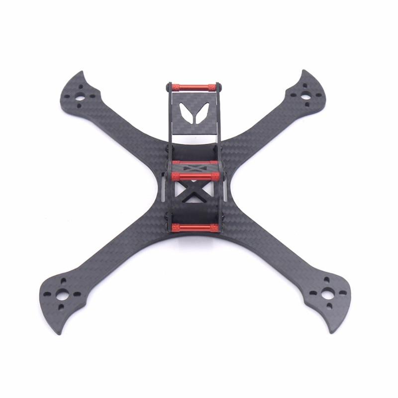 Kamaitachi 220mm FPV Racing RC Drone X Frame Kit 4mm Arm Carbon Fiber for RC Racing Camera Drone Diy Accessories alfa lsx5 5mm 6mm arm thickness 3k carbon fiber racing stretch x frame kit for rc multirotor fpv racing drone