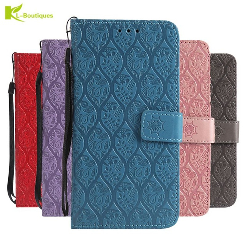 A9 2018 Flip Wallet Case on For Samsung Galaxy A9 2018 Coque Luxury Leather Phone Bag Cover For Fundas Samsung A9 2018 A920 Case