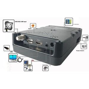 Image 2 - كبت 968 جرام الرقمية الأقمار الصناعية مكتشف متر 3.5 TFT LED DVB S2 DVB S سات مكتشف MPEG 4 1080P كامل هد المحمولة سات مكتشف KPT 968G