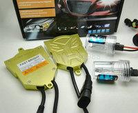 Nuevo kit de hid xenon AC 55 W HID Xenon H7 H8 9005 9006 H11 6000 K 4300 K 8000 k HID Arranques Rápidos Fuente Linterna Del Coche Bombillas de Repuesto