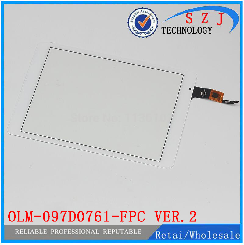 New 9.7 inch OLM-097D0761-FPC Ver.2 Touch Panel Screen Digitizer Repair For Teclast X98 Air III 3 P98 4G Free shipping white new 9 7 inch tablet olm 097d0761 fpc ver 2 touch screen touch panel digitizer glass sensor replacement free shipping