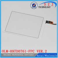 Nuevo 9,7 pulgadas OLM-097D0761-FPC Ver.2 Panel táctil digitalizador de pantalla para reparación Teclast X98 aire III 3 P98 4G envío Gratis