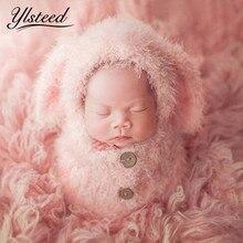Saco de dormir suave para bebé, conjunto de sombrero para sesión de fotos, accesorios de fotografía recién nacido, Crochet, accesorios para fotos