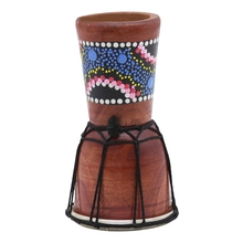 IRIN 1 Pc 4 inch Professional Djembe African Drum Bongo Wood Good Sound of Musical Instrument