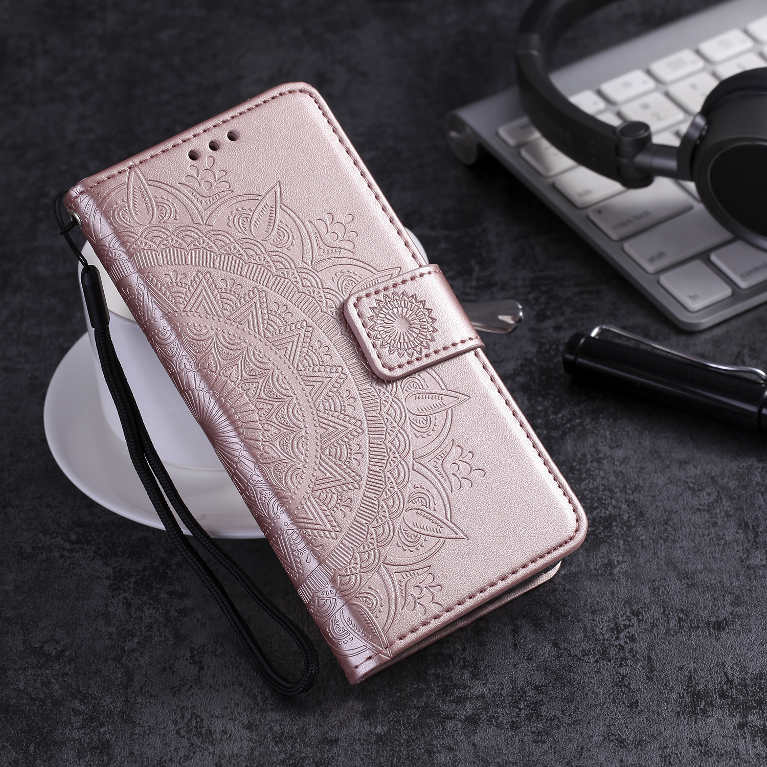 Flip-Card-Slot-Case Leather Wallet Note 8 S9 J6-Plus Samsung Galaxy S10E For S8 A30 A50