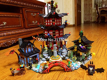 2016 Ninjagoed 06022 City of Stiix Building Blocks 2150pcs Temple of Airjitzu minifigures Kids Bricks Toys brinquedos legoeds