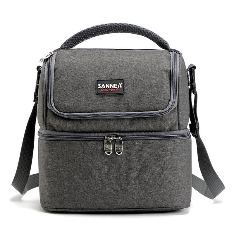 купить Bolsa Termica cooler Bag for Food Storage Picnic Thermal Bags Travel Men Women neoprene lunch bags 600D Material по цене 782.53 рублей