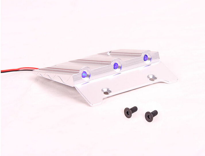 baja CNC Roof Plate with LED lights HPI ROVAN KM Baja 5B 5T SS orange and silver available