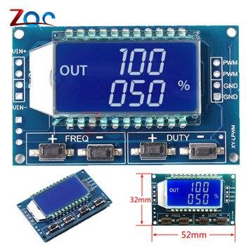 Signal Generator PWM Pulse Frequency Duty Cycle Adjustable Module LCD Display 1Hz-150Khz 3.3V-30V PWM Board Module Тахеометр