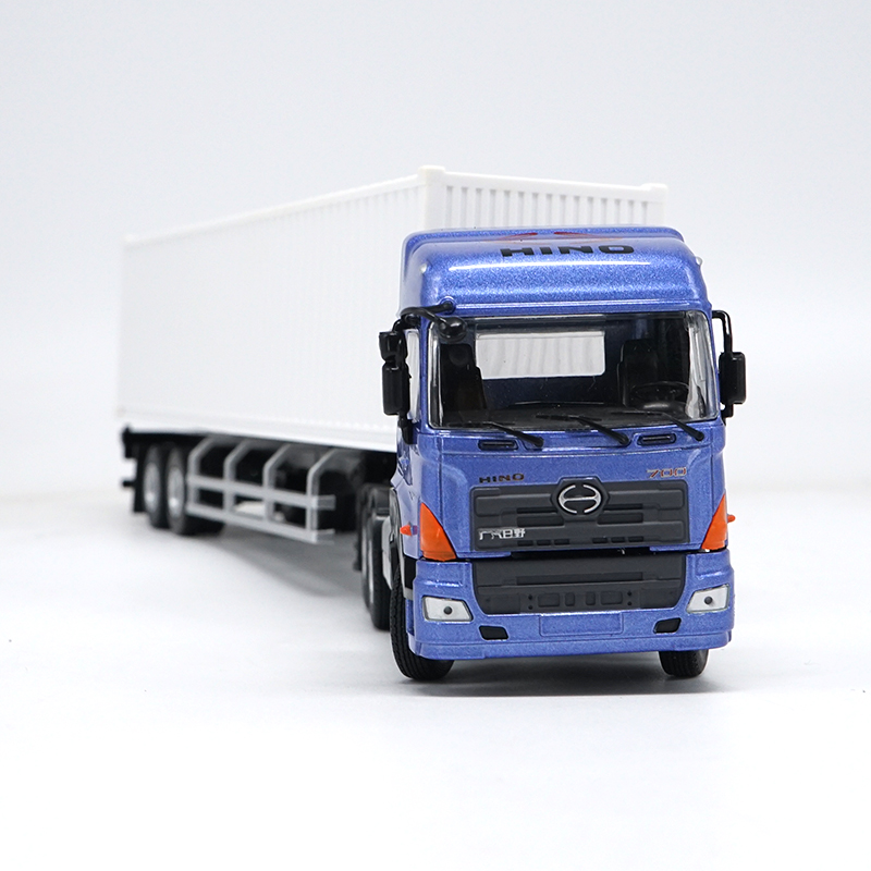 Exquisite,Collectible Alloy Model Gift 1:50 HINO Heavy Duty Container Truck Tractor Vehicles DieCast Toy Model for DecorationExquisite,Collectible Alloy Model Gift 1:50 HINO Heavy Duty Container Truck Tractor Vehicles DieCast Toy Model for Decoration
