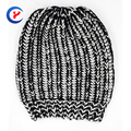 2017 New arrival Fashion Mix color Knitted hat for women High quality Warm simple style Knitting hat thickening caps  #x25