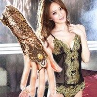 Хэллоуин косплэй Лидер продаж интимные аксессуары стимпанк Ретро кружево Прихватки для мангала женская одежда украшения с браслетом