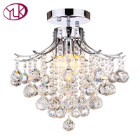 Hot Sale Luxury Bedroom Modern Crystal Chandelier Dia40cm Home Decoration Lighting Fixture For Ceiling Lustres De