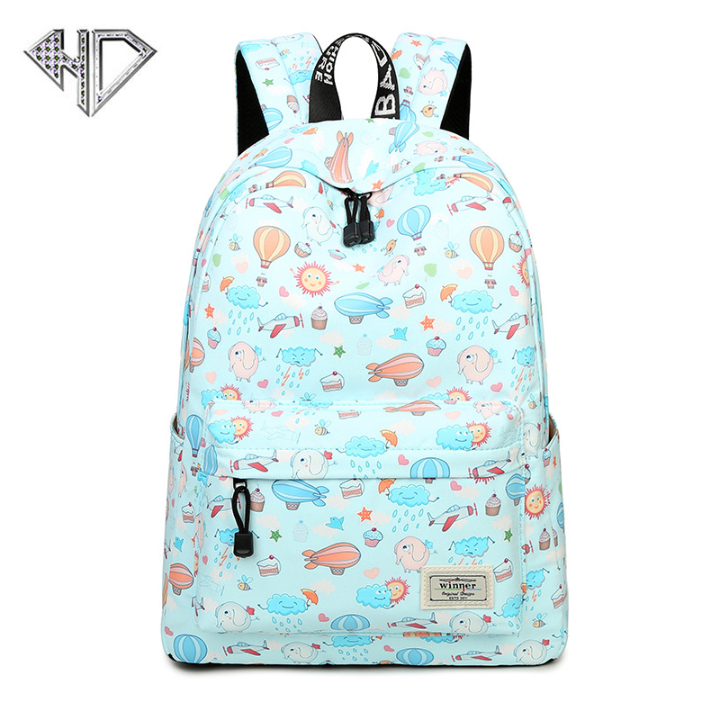 Brand Top Casual Women Backpack School Backpacks Bags Bookbag for Teenagers Girls Laptop Backbag Travel Daypack Mochila Feminina