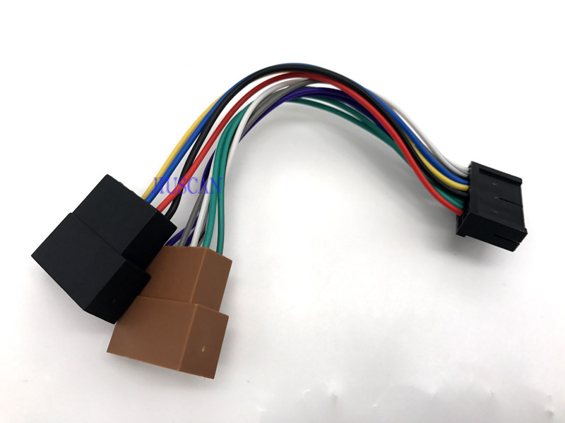 Car Radio Cable font b ISO b font font b Wire b font Harness font b wire harness ls wonthoo ls wiring harness conversion \u2022 45 63 74 91  at crackthecode.co