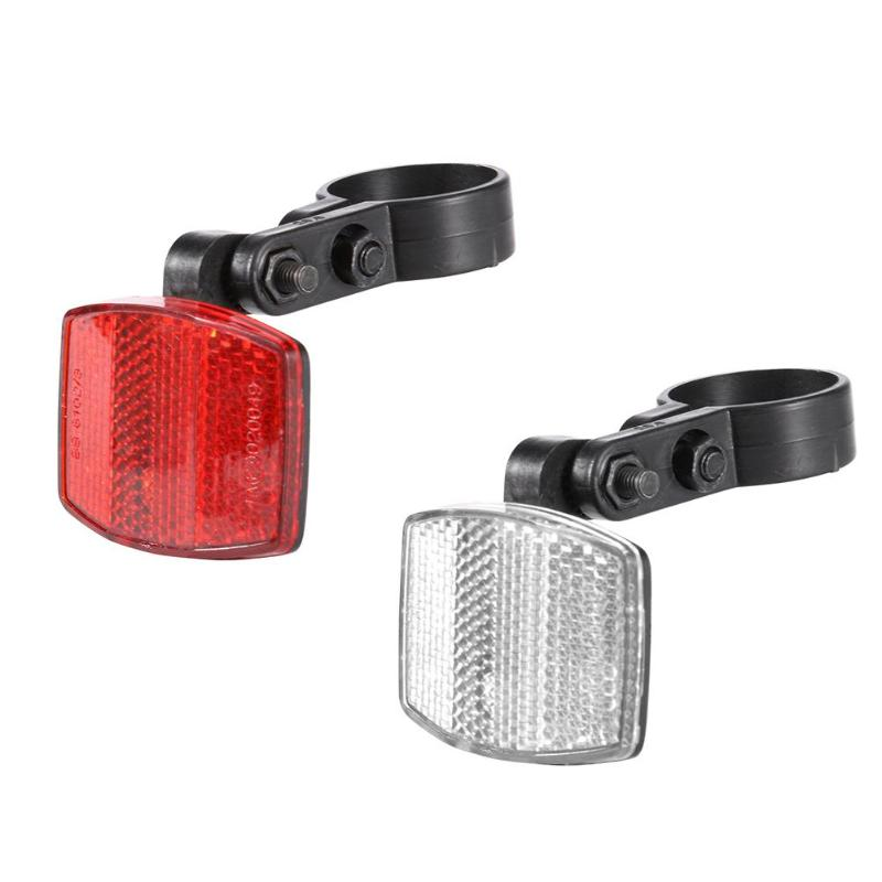 Bicycle Front Rear Plsatic Reflective Lens MTB Road Bike ...