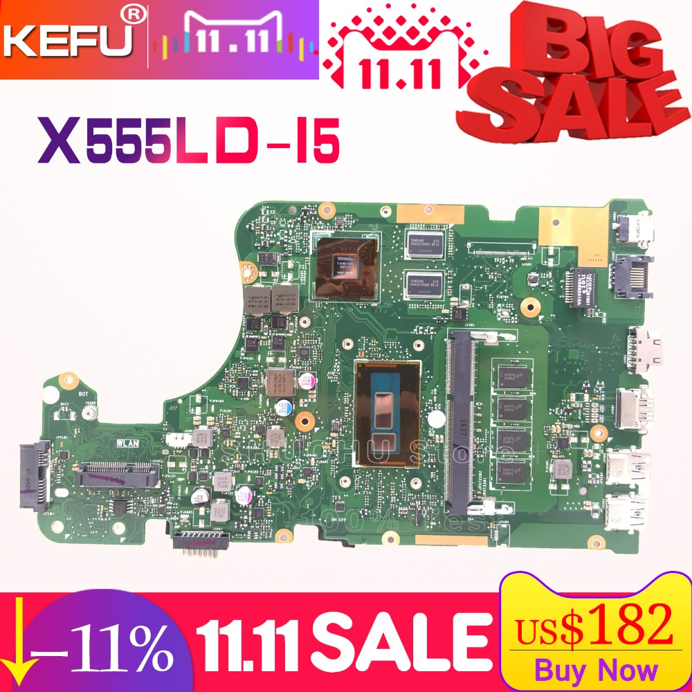 KEFU For ASUS W519L X555L A555L X555LD X555LP R556L R557L FL5900L X555LJ X555LN motherboard tested 100% work original mainboard 10pcs lot free shipping original high quality for asus x555l a555l v455 x455l series dc jack