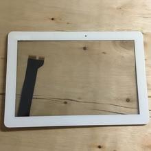 10.1 インチタッチスクリーンホワイトタッチスクリーンパネルのガラスデジタイザレンズ修理 asus のメモパッド 10 ME102 ME102A K00F タッチパネル