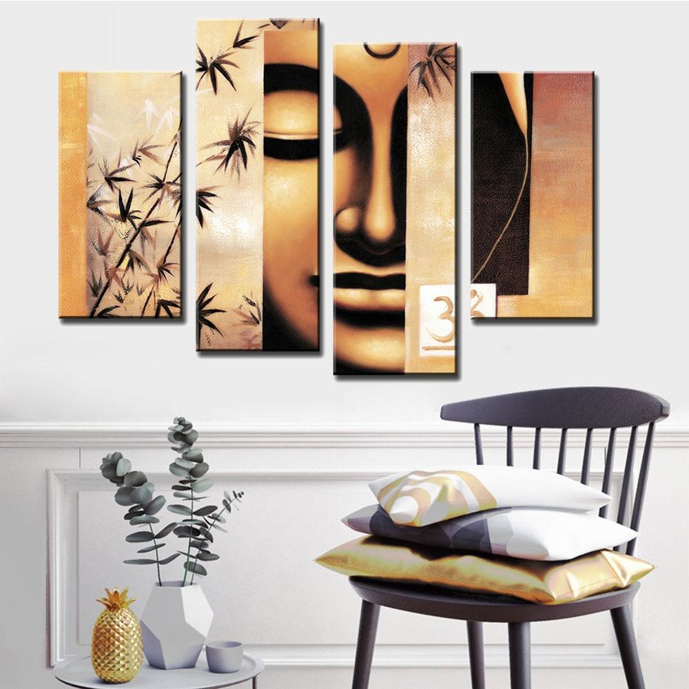 Buddha canavs painting (1)
