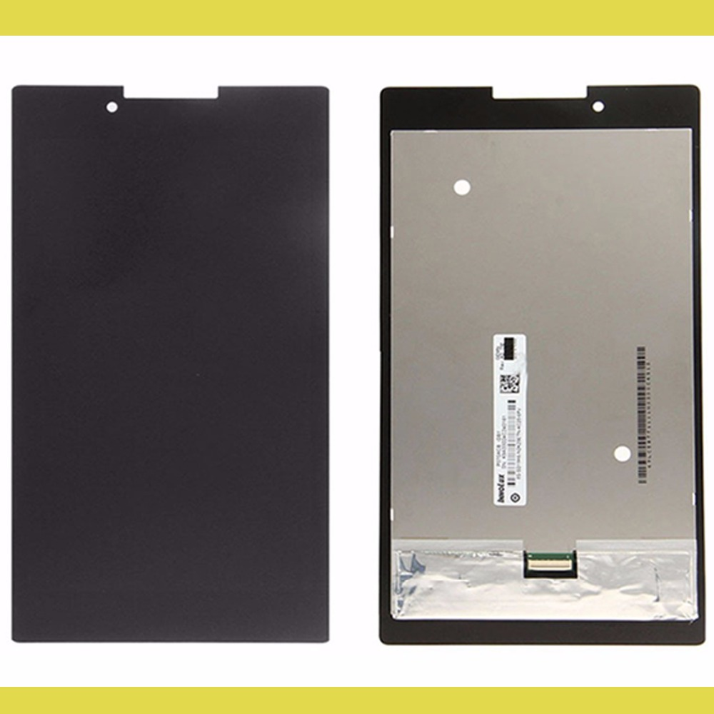 New LCD Display + Touch Screen Digitizer Glass Assembly For Lenovo Tab 2 A7-30 A7-30HC A7-30DC Tablet PC Free Shipping for lg optimus g3 mini d722 d724 d725 d728 lcd display with touch screen digitizer glass frame assembly by free shipping