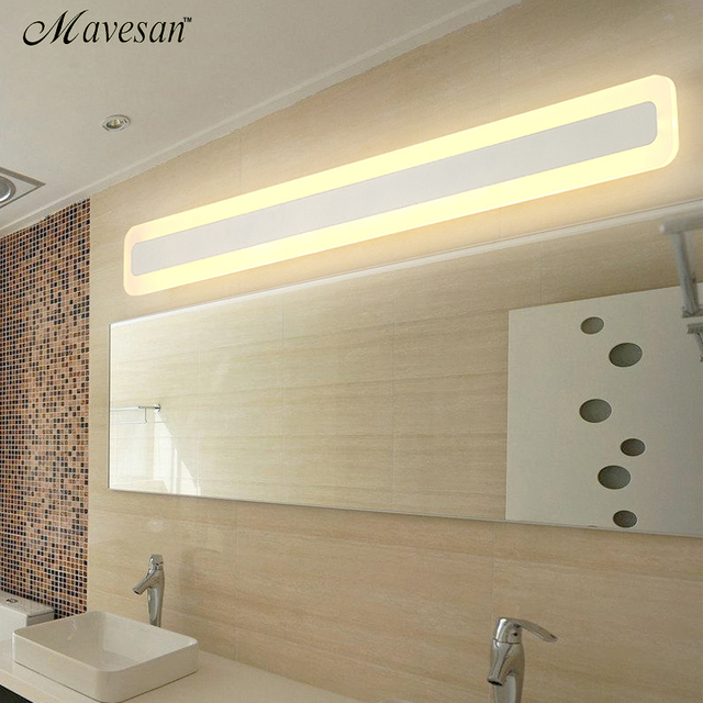 US $49.06 49% OFF|Modern wall sconce lampe for Bathroom bedroom headboard  LED Mirror Lights deco Anti fog espelho banheiro 400 600 800 mm -in LED ...