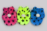 New Arrival Star Dot Hoodied Design Pet Dogs Coat Free Shipping By China Post Dogs Coat