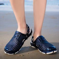 Мужская обувь 2019 г. Модные Повседневные тапки EVA легкие туфли с отверстиями удобные сандалии ND278