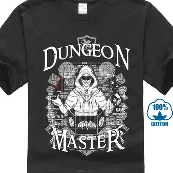 2018 New & Now On Sale 3d Print Im The Dm Dungeon Master Dnd D&amp ; D Dungeons And Dragons Inspired For Men T Shirt Big Size 3