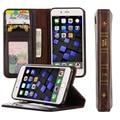 2016 Virar Luxo Wallet Pu Couro Do Vintage livros Da Tampa Do Caso para iphone 7 7 plus caso de telefone celular para 7 p volta cobrir
