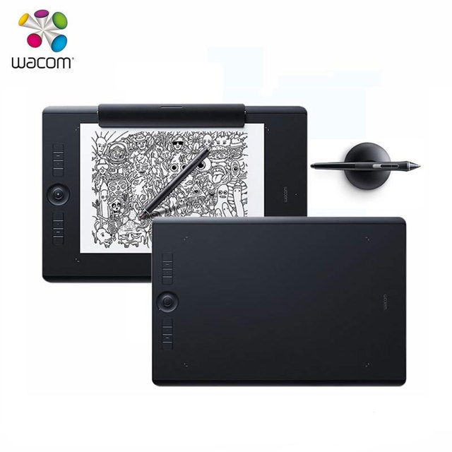 US $430 36 |Wacom Intuos Pro PTH 660 Standard / Paper Edition Digital  Tablet 8192 Pressure Levels Wireless Connect DHL / EMS Free Shipping-in  Digital