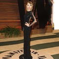 Taylor In Black Sequin Floor Length Gown 2014 Vanity Fair Oscar Party In Hollywood Sheer Back Mermaid Long Sleeve Evening Dress