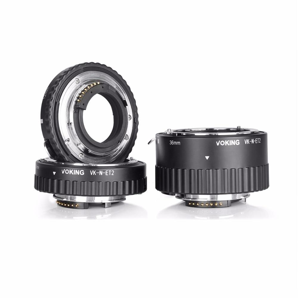 Voking VK-N-ET2 automaatfookuse makro pikendustoru rõngas Nikon D60 - Kaamera ja foto - Foto 5