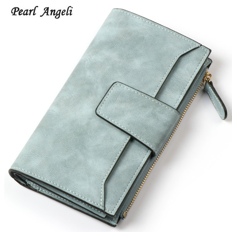 Fashion Brand Women Wallet Coin Pocket Purses PU Leather Clutch Long Wallets Card Holder Zipper Hasp Lady Wallet Female Purse vintage leather women long wallets ladies fashion wallet coin 3fold purse female coin pocket card holder wallet purses money bag