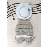 Baby Clothes Sets Girls Romper One Piece Cap