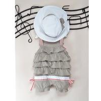 Détail Bébé Shortall Chapeau Costume Couche Body Barboteuse Chapeaux de Soleil bébé vêtements salopette roupas de bebe roupa infantil