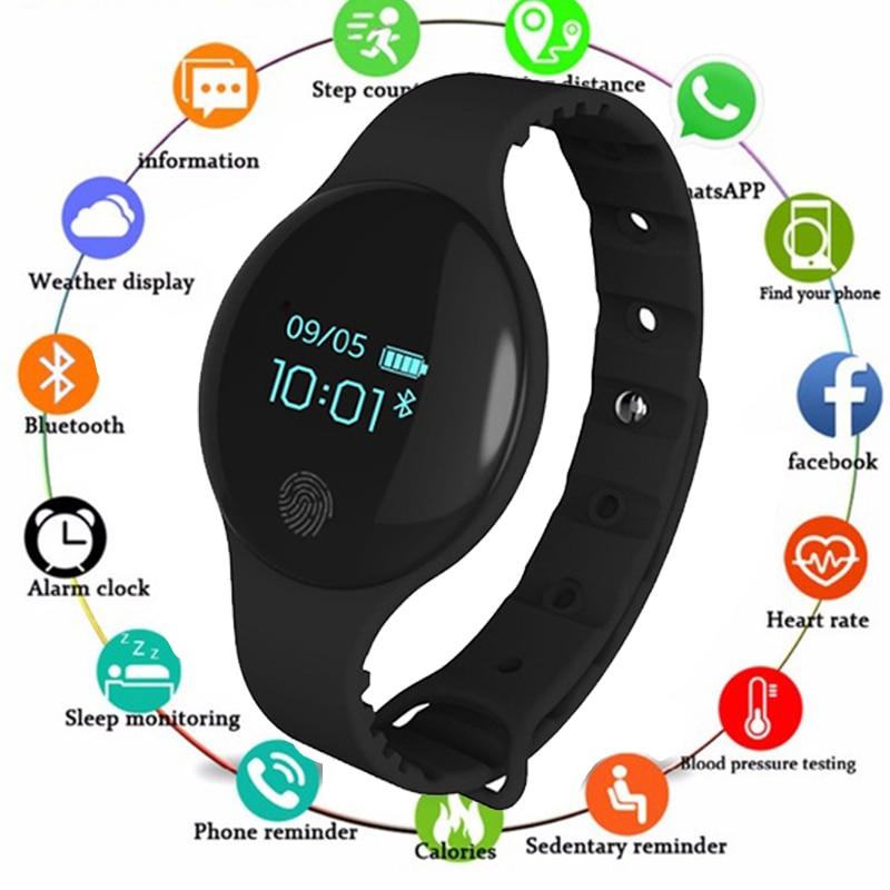 Ordelijk H8 Nieuwe Smart Watch Voor Mannelijke En Vrouwelijke Studenten Koreaanse Versie Van De Beweging Stap Waterdichte Armband Tafel Gift Voldoende Aanbod