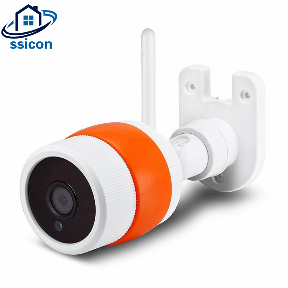 SSICON Mini Bullet Yoosee APP WIFI Camera 720P Wireless Home Security CCTV Wireless Camera Max Support 128G TF Card
