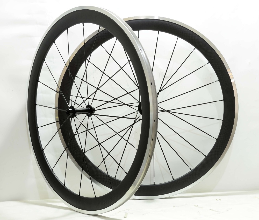700C 25mm width alloy brake surface carbon wheels 50mm depth road bike wheelset 3k matte finish with Powerway R13 hub жесткий диск 2 5 2tb 7200rpm hp sas 765466 b21