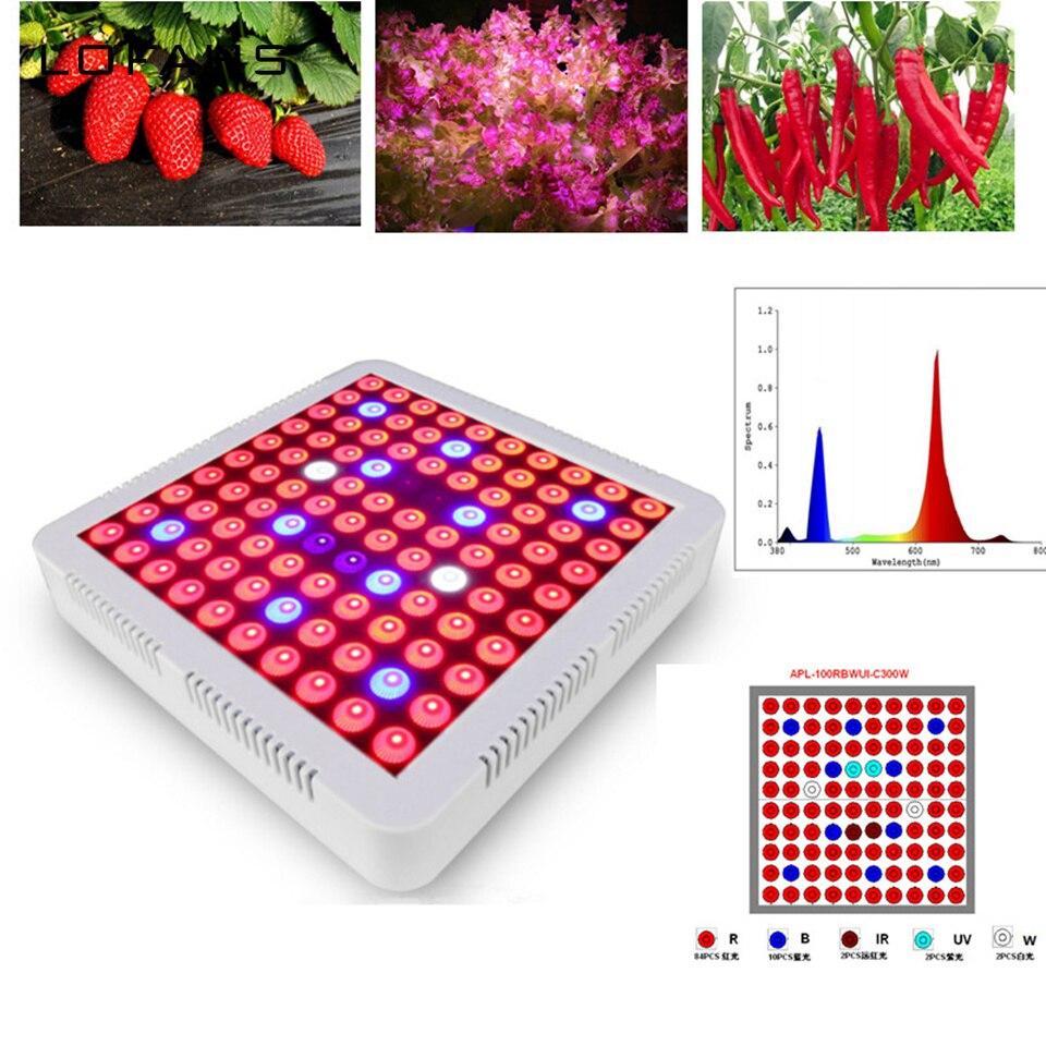 Led grandir lumière plein spectre intérieur cultiver plante de fleurs végétales lampe d'intérieur pour cultiver des plantes de tente Fitolampy couleur AC85-265V