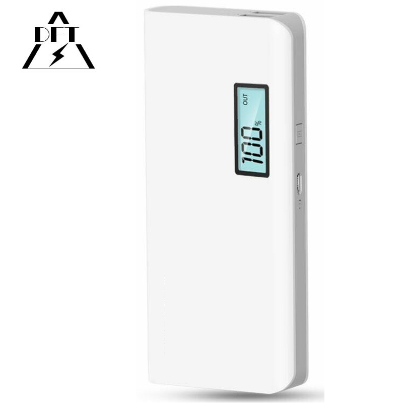 20000mAh Power Bank Best LED 2 USB Portable Charger For Mobile Phone Bateria Externa Powerbank for xiaomi samsung iphone 4 5 6 7