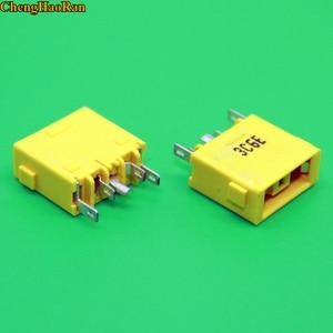 Image 1 - ChenghaoRan 1pcs yellow Square mouth DC Jack for Lenovo the super YOGA 13 X1 Carbon dc power jack