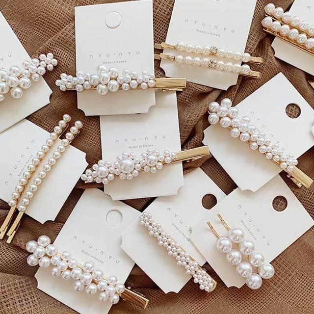 1 Pc brillante carta horquillas de cristal brillante de cartas de cabello para mujeres estilo herramienta de Hairgrip de accesorios para el cabello