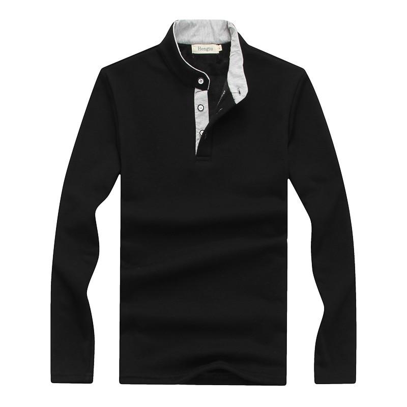 Camisa polo de hombre 2019 Camisa de manga larga de invierno cálido - Ropa de hombre - foto 2