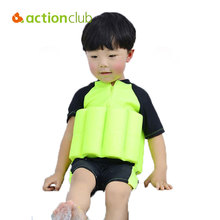 Actionclub Baby Floating Swimwear Buoyancy Swimsuit Boy Girl Swim Vest Safe Drifting Detachable Training Swimming Float Suits
