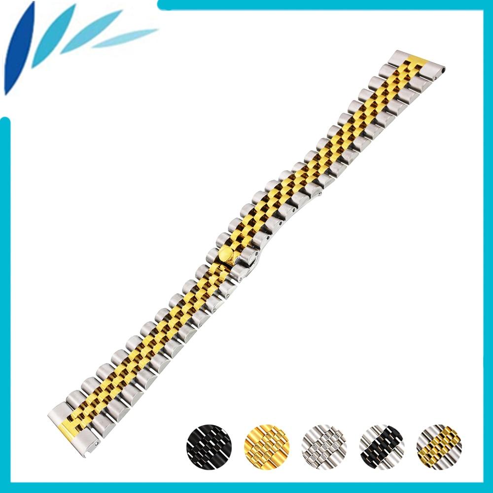 Stainless Steel Watch Band 20mm 22mm for Diesel Quick Release Strap Wrist Men Women Wrist Loop Belt Bracelet Silver + Spring Bar