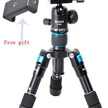 Портативный дорожный профессиональный компактный алюминиевый мини-штатив с шаровой головкой для цифровой камеры DSLR смартфона